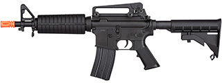 Double Bell M4 CQB AEG Airsoft Rifle w/ Metal Gearbox [Polymer Body] (BLACK)