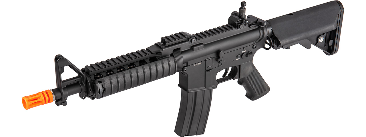 Double Bell M4 CQB RIS AEG Full Metal Airsoft Rifle w/ Riser Mount (BLACK)