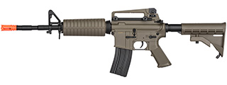 Double Bell M4A1 AEG Airsoft Rifle w/ Metal Gearbox [Polymer Body] (DARK EARTH)