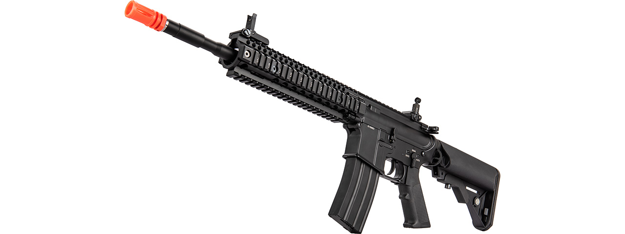 "Double Bell MK18 9.5"" AEG Full Metal Airsoft Rifle (BLACK)"