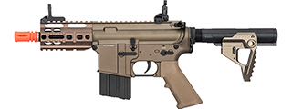 Double Bell M4 Pistol AEG Full Metal Airsoft Rifle (TAN)