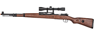 Double Bell WWII Kar 98k Bolt Action Spring Airsoft Rifle (FAUX WOOD)