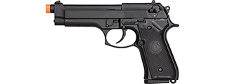Double Bell M92 U.S. Army Gas Blowback Airsoft Pistol (Black)