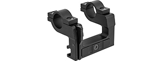 Double Bell Quick Release Rifle Scope Mount for Kar 98k WWII Rifle (BLACK)