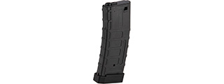 Double Bell 120rd Mid Cap M4 Airsoft AEG Magazine w/ Tactical Base Plate (BLACK)