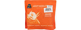 Double Bell 0.20G Airsoft BBs [4000rds] (PEARL WHITE)