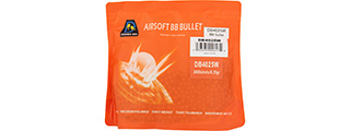 Double Bell 0.25G Airsoft BBs [3000rds] (PEARL WHITE)