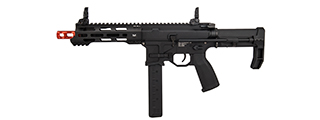 KWA QRF Pistol Caliber MOD 3 AR w/ Adjustable FPS AEG 2.5 Gearbox (Black)