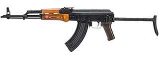 LCT LCKMS AK AEG Rifle w/ Folding Stock (Wood)