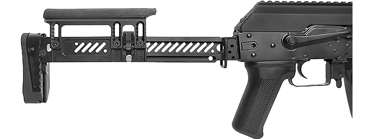 LCT ZKS-74M AK AEG Rifle w/ Folding Stock (Black)