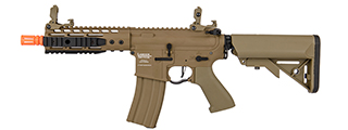 "Lancer Tactical LT-BT-G2-ME Proline 9"" KeyMod Rail w/ Picatinny M4 Carbine AEG (Tan)"