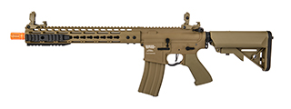 "Lancer Tactical LT-DT-G2-ME 12"" KeyMod Rail w/ Picatinny M4 Carbine AEG (Tan)"
