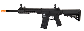 "Lancer Tactical LT-19B-G2-E 10"" Hybrid M4 Carbine w/ Keymod Rail (Black)"