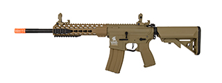 "Lancer Tactical LT-19T-G2-E 10"" Hybrid M4 Carbine w/ Keymod Rail (Tan)"