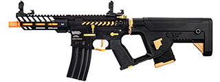 Lancer Tactical Enforcer NEEDLETAIL Skeleton AEG [Low FPS] w/ Alpha Stock, Gold