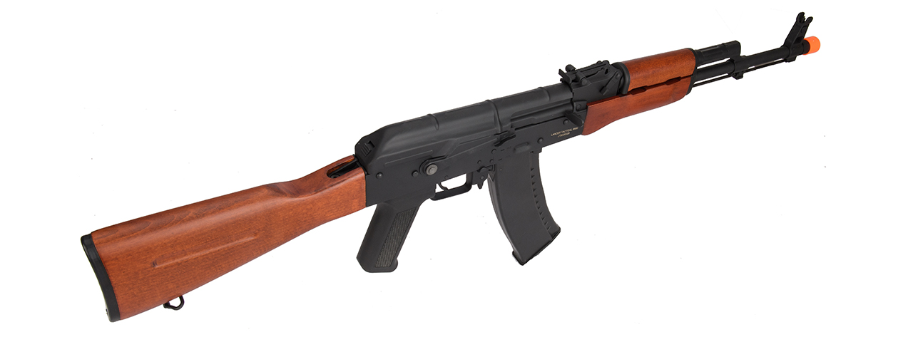 Lancer Tactical AK-Series AK-74N AEG Airsoft Rifle (Real Wood Furniture)