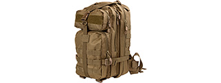 VISM by NcSTAR SMALL BACKPACK, TAN