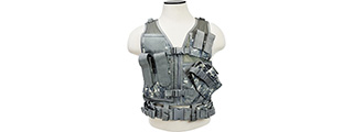 VISM by NCSTAR TACTICAL VEST, DIGITAL CAMO (2XL+)