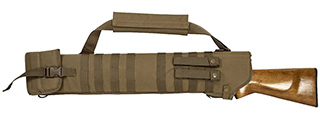 VISM by NcSTAR TACTICAL SHOTGUN SCABBARD, TAN