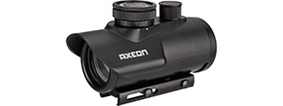 AXEON TRISYCLON SELECTABLE COLOR OPTIC DOT SIGHT (BLACK)