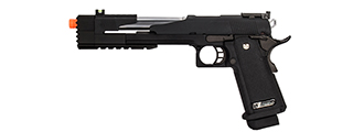 "WE-Tech Hi-Capa 7.0 ""Dragon"" Long Slide Full Auto Gas Blowback Pistol w/ Standard Grip (Black)"