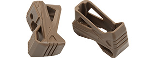 Multi-Functional Quick Pull Holster Magazine Base for M4 Magazines (Color: Tan / Pack of 2)
