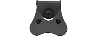 Amomax Paddle for Tactical Pistol Holster (Black)