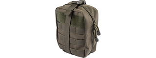Lancer Tactical Admin Pouch w/ Molle (Color: OD Green)