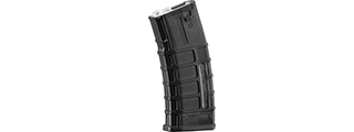 A&K Masada ACR 350 Round High Capacity M4 Magazine for AEG (Color: Black)
