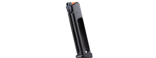 Modify Tech PP-2K 22 Round CO2 Magazine with Modify Valve for PP-2K Gas Blowback SMG (Color: Black)