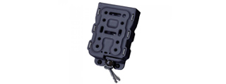 Laylax M4/M16 Hard Shell Bite Quick Magazine Holder (Color: Black)
