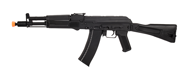 Lancer Tactical AK-Series AK-105 AEG Airsoft Rifle w/ Foldable Stock (Black)