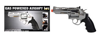 HFC HG-132C 357 MAGNUM FULL METAL GAS POWERED AIRSOFT REVOLVER