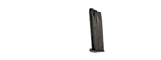 HFC AIRSOFT GREEN GAS MAGAZINE FOR M9 SERIES GAS PISTOL - BLACK
