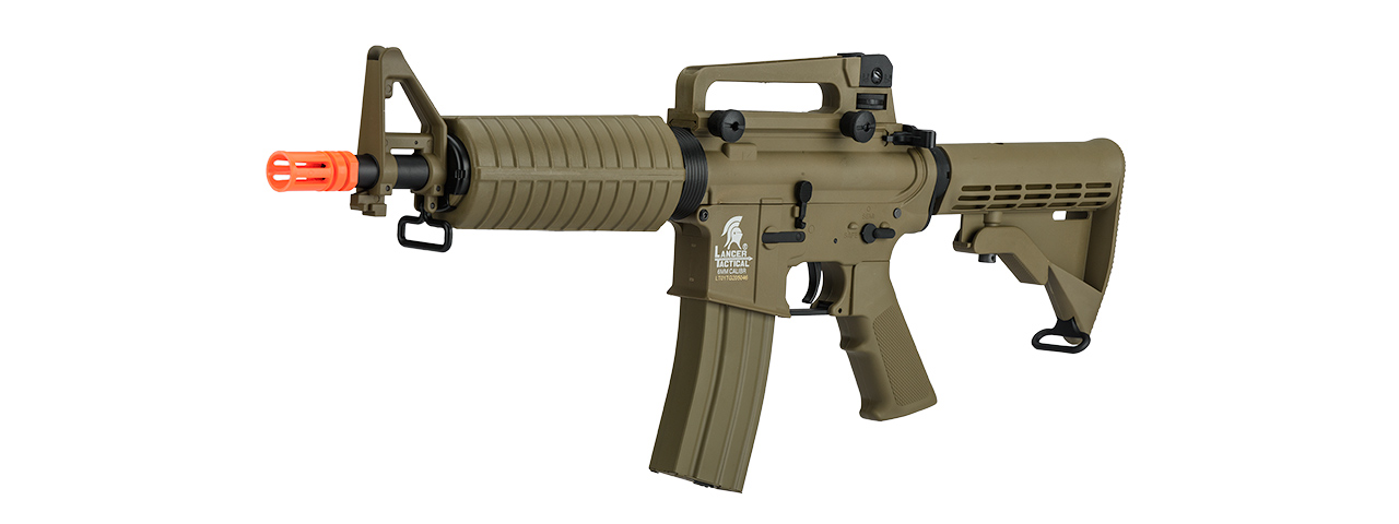 LT-01T-G2 M4 M933 COMMANDO AEG FIELD AIRSOFT RIFLE (COLOR: TAN)
