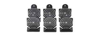 AC-447 METAL SHOOTING TARGETS - TYPE A (SET OF 6)