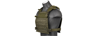 CA-883GN Nylon Lightweight Tactical Vest (OD Green)