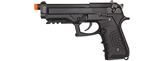 HG-173BBB HG-173 GAS BLOWBACK SEMI-AUTO M9 AIRSOFT PISTOL (BLACK)