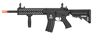LT-12BL-G2 M4 LOW FPS GEN 2 EVO AEG POLYMER AIRSOFT RIFLE (BLACK)