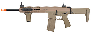 "LT-201TA WARLORD 10.5"" AEG TYPE A CARBINE AIRSOFT RIFLE (DARK EARTH)"
