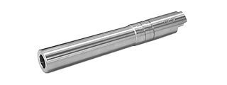 AIRSOFT MASTERPIECE .45 STEEL ACP OUTER BARREL FOR 5.1 HI-CAPA (SILVER)