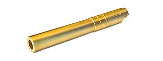 AIRSOFT MASTERPIECE .45 STEEL ACP OUTER BARREL FOR 5.1 HI-CAPA (GOLD)