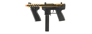 ECHO 1 GENERAL ASSAULT TOOL (GAT) AIRSOFT AEG SUBMACHINE GUN (GOLD)