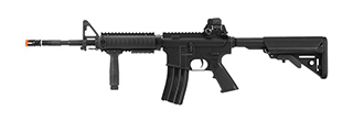 LCT Airsoft RAS M4 EBB Carbine Assault Rifle (Black)