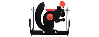 Lancer Tactical Steel Swirling Squirrel Airsoft Target