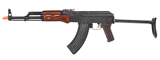 E&L Airsoft AK AIMS Platinum AEG Airsoft Rifle w/ Real Wood Furniture (BLACK)