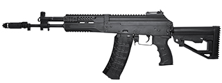 LCT Airsoft LCK12 Tactical AK-12 Assault Airsoft AEG (Black)