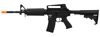 Lancer Tactical M4A1 LT-06 Carbine ProLine Series Airsoft AEG [HIGH FPS] (BLACK)