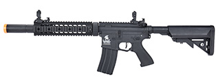 "Lancer Tactical LT-15 Hybrid Gen 2 M4 SD 9"" Airsoft AEG [HIGH FPS] (BLACK)"
