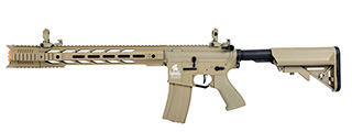 "Lancer Tactical LT-25 Hybrid Gen 2 M4 SPR ""Interceptor"" Airsoft AEG [HIGH FPS] (TAN)"